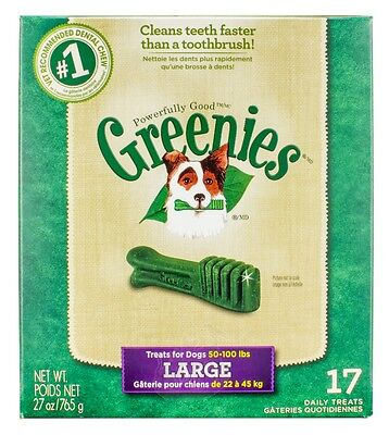 Greenies [New] Daily Dental Chews for Large Dogs (17 count)