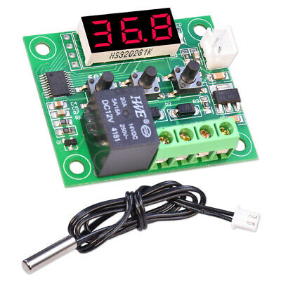 W1209 Digital Thermostat 12V + NTC Probe Temperature Controller Switch Display