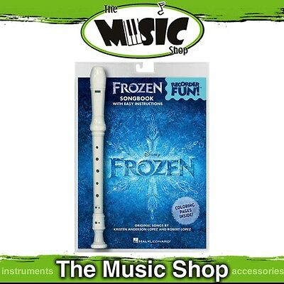 New Recorder Fun! Frozen Music Book & Recorder Pack - Easy Recorder Songbook