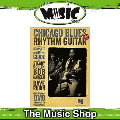 New Chicago Blues Rhythm Guitar Music Tuition Book with DVD