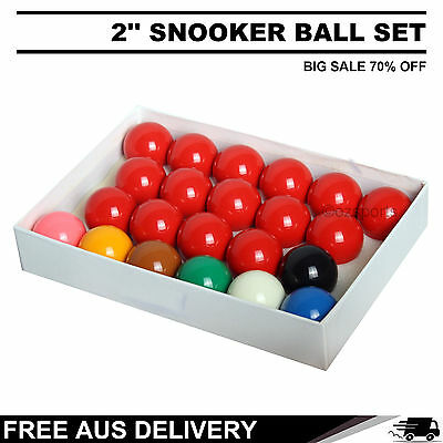 2'' (Inch) Billiard Snooker Ball Set Big Sale 70% Off Free Delivery