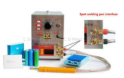 New 719A Pulse Battery Spot Welder Soldering Welding Machine Only Have 220V