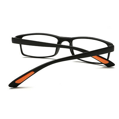 Lesebrille 1,0 bis 4,0 Harz Objektiv Schwarz TR90 Light Reading Glasses No9DGF
