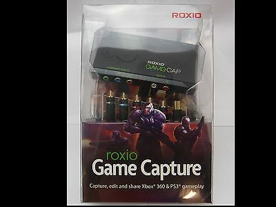 Roxio Game Capture Gamecap Brand new Factory sealed xbox 360/ PS3 game capture
