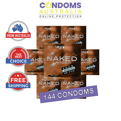 Four Seasons Naked Large 144 Condoms Bulk Buy Condoms Free Shipping