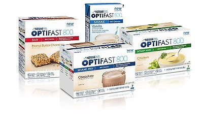 Optifast 800 Berry With Yogurt Coating Bars | 6 Boxes | 42 Servings | Brand New