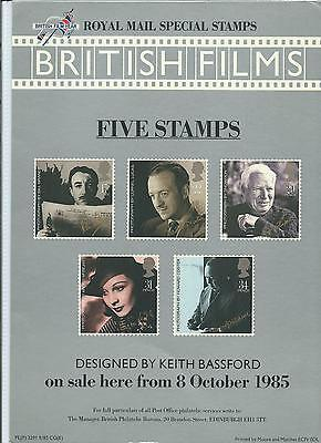 Gb - Royal Mail Posters - A4 - 1985 -  British Films