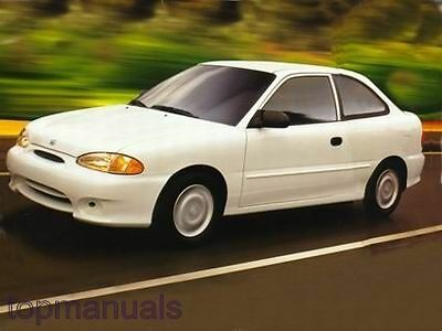 Manual De Taller O Reparacion Hyundai Accent 95   Workshop 1995