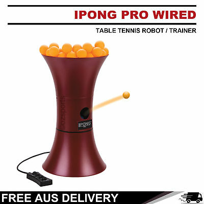 Ipong Master V300 Wireless Control Table Tennis Robot / Trainer Free Au Postage