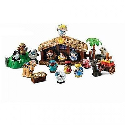 Fisher-Price Little People Nativity Set. Free Delivery