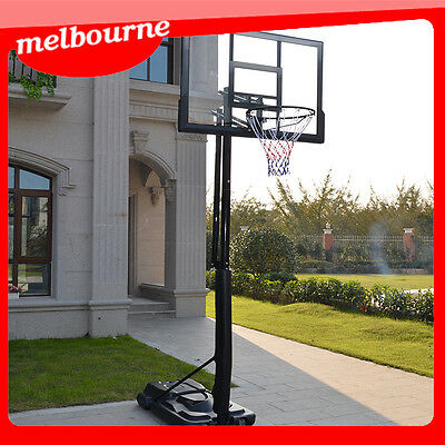 *VIC PICKUP * 47inch Portable Basketball Hoop and Stand Height Adjustable