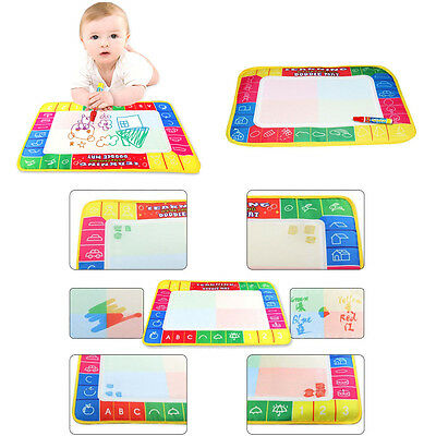 New Kids Water Mat Drawing Painting Writing Mat Board Magic Pen Doodle Gift Toy