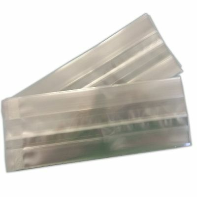 Pack 25 50 or 100 Cello Polypropylene 30 Mycrons Clear Bags 100x185x50 Gusset