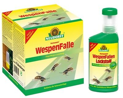 Wespen Falle + Lockstoff 250 ml Set