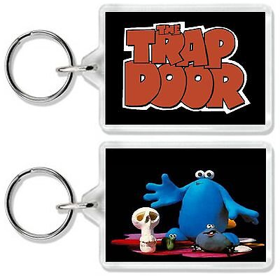 The Trap Door Classic Retro Kids Tv Show And Dvd Keyring Uk Seller
