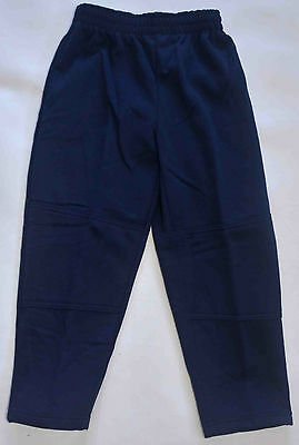 NEW Fleece Pants unisex School Uniform Double Knee Navy Size 5,6,8,10,12,14,16
