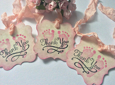 Baby Girl Gift tags / Baby Shower gift Tags ( QTY 50)