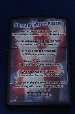 Lighter Zippo Military Wife's Prayer (EB934)