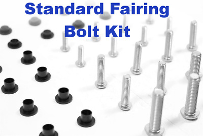 Fairing Bolt Kit body screws fasteners for Ducati 848 2008 - 2009 Stainless 1098