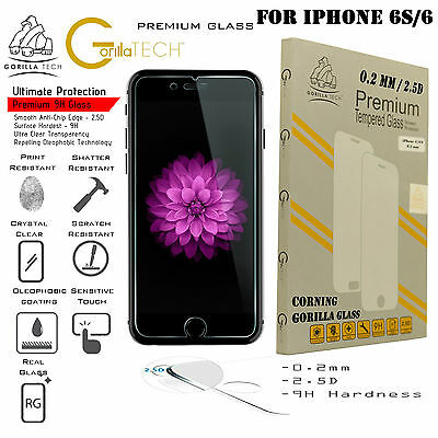 Corning Gorilla Tempered Glass Screen Protector Protection For Apple iPhone 6