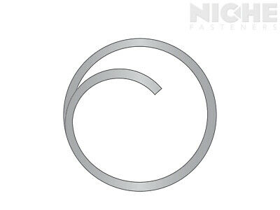Circle Cotter .048 x 3/4 Stainless Steel Plain  (100 Pieces)
