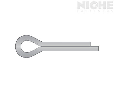 Cotter Pin 1/8 x 2-1/2 300 Series Stainless Steel  (150 Pieces)