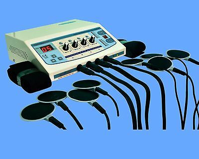 Electronic Stimulator Electro therapy Machine Pain Relief  Muscle Stimulator DSF