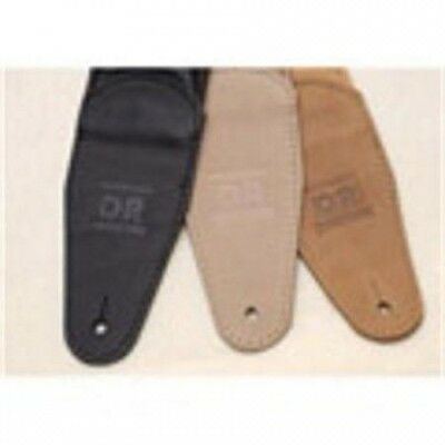 DR Strings Glove Leather 7cm Guitar Strap (Tan). Free Shipping