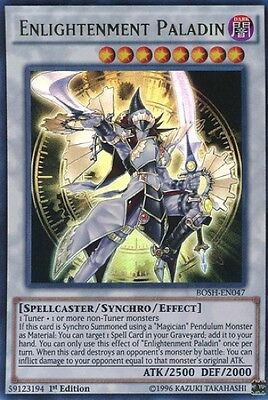 Enlightenment Paladin (BOSH-EN047) - Ultra Rare - Near Mint - 1st Edition