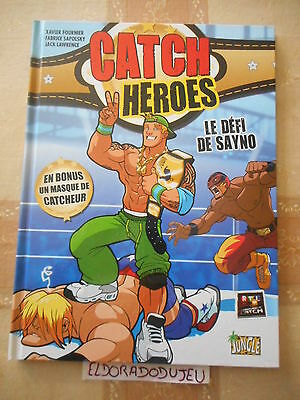 Eldoradodujeu > Bd - Catch Heroes 1 Le Defi De Sayno - Jungle Eo 2010 Tbe-