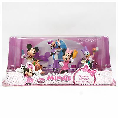 OR.DISNEY*~MINNIE & MICKEY MOUSE Figuren Play SPIEL Set*Pluto+Daisy Duck+Figaro