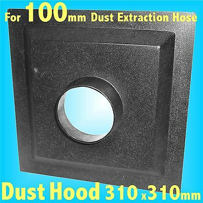 310mm Dust Hood for 100mm Dust Extraction Hose Charnwood SIP Record extractor