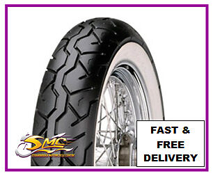 HARLEY DAVIDSON FLSTS HERITAGE SPRINGER WHITEWALL FRONT TYRE MT90-16 74H Maxxis