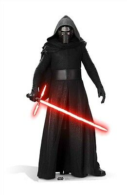 Kylo Ren Star Wars The Force Awakens Cardboard Cutout Stand Up Standee Driver
