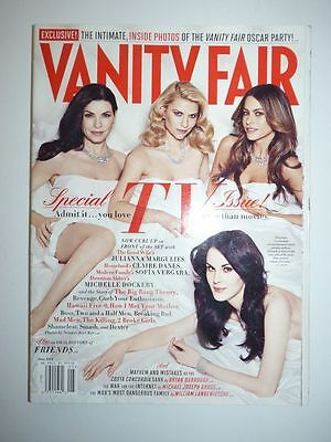 Magazine mode fashion VANITY FAIR UK #621 may 2012 special TV Issue