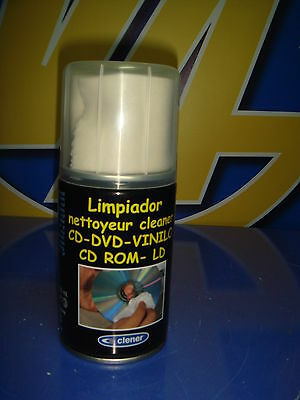Limpiador DVD CD Vinilo CLEANER