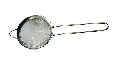 Fine Mesh Bar Cocktail Strainer Stainless Steel Barman Pub Drink 85mm