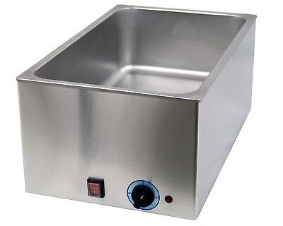Bain Marie Wasserbad in GN (ohne GN - Behälter) Edelstahl