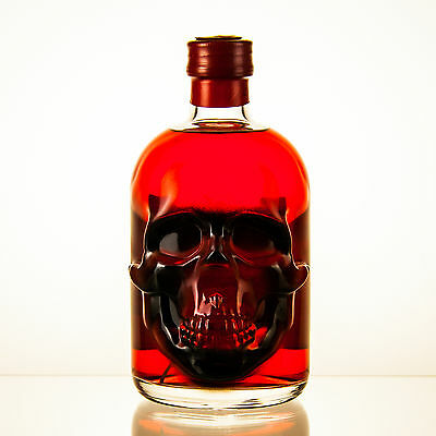 Red Chili Head Absinthe - 0,5l - 55% vol. - Totenkopfflasche - LIMITED EDITION