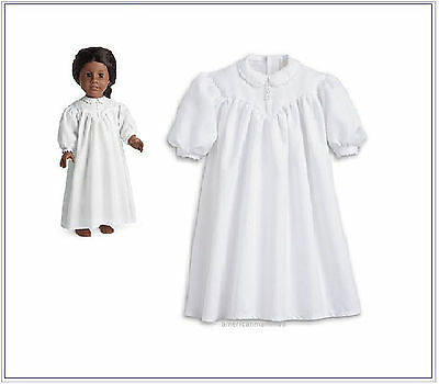 American Girl ADDY NIGHTGOWN  for Dolls Pajamas Nightie Shift PJs NEW Addy's