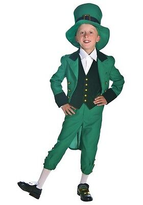 Child Leprechaun St Patricks Day Costumes Size Small and Medium (with defect)
