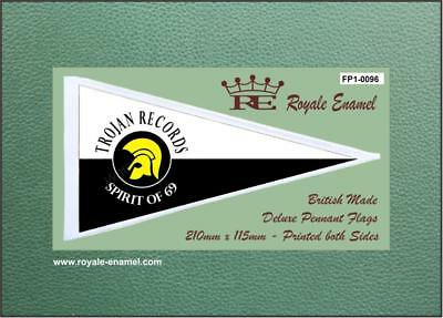 Royale Antenna Pennant Flag - TROJAN RECORDS SPIRIT OF 69 - FP1.0096