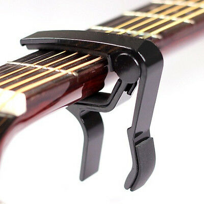 New Quick Change Tune Clamp Trigger Capo For Acoustic Electric Classical Guitar