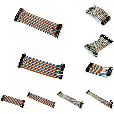 10/20/30cm optional 2.54mm 1P-1P jumper cable jumpers for Arduino Wire Dupon New