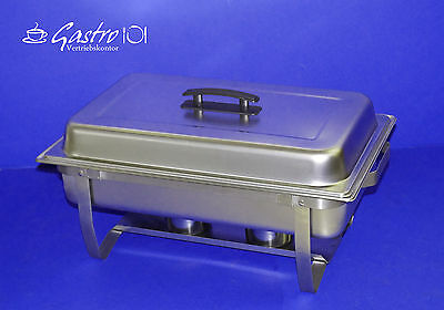 Chafing Dish Wasserbad Bain Marie inkl. 1/1 GN + Brennpaste+ Behälter