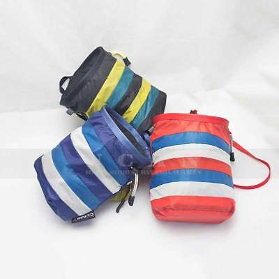 Rock Climbing Chalk Bag Pouch Chalkbag Climb Gear Equipment ClimbX Rainbow