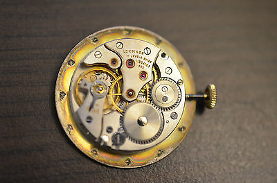 Watch movement LONGINES 23 Z pour pièces / for parts - working ! Fonctionne !