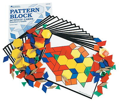 Learning Resources Pattern Block Activity Set