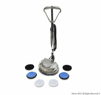 Electric Floor Polisher Machine Scrubber Buffer Burnisher Room Store Cleaner Mop