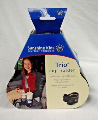 Sunshine Carseat  Kids Trio Cup Holder